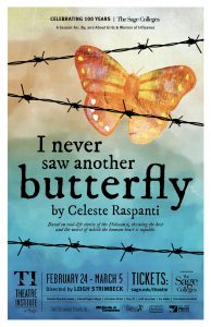 I Never Saw Another Butterfly Poster